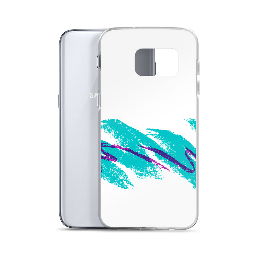 Turquoise Purple Grape Jazz Cup Samsung Case