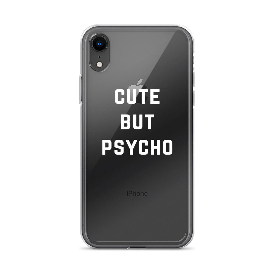 Cute But Psycho iPhone Case