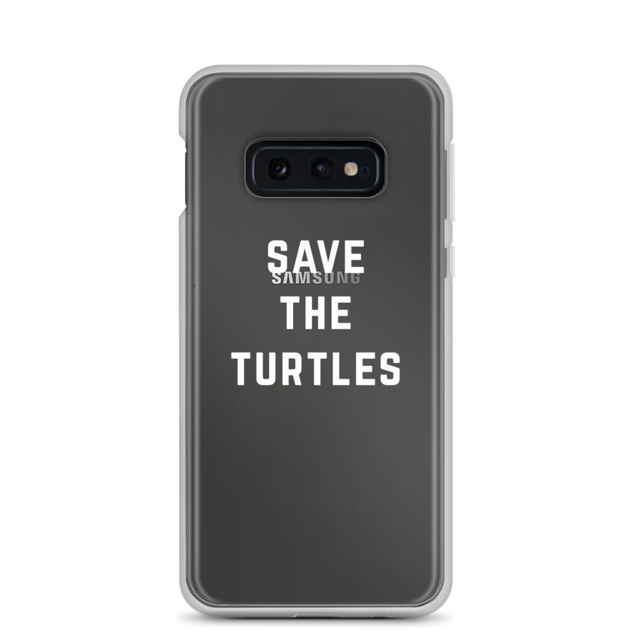 Save the Turtles VSCO Clear Samsung Case