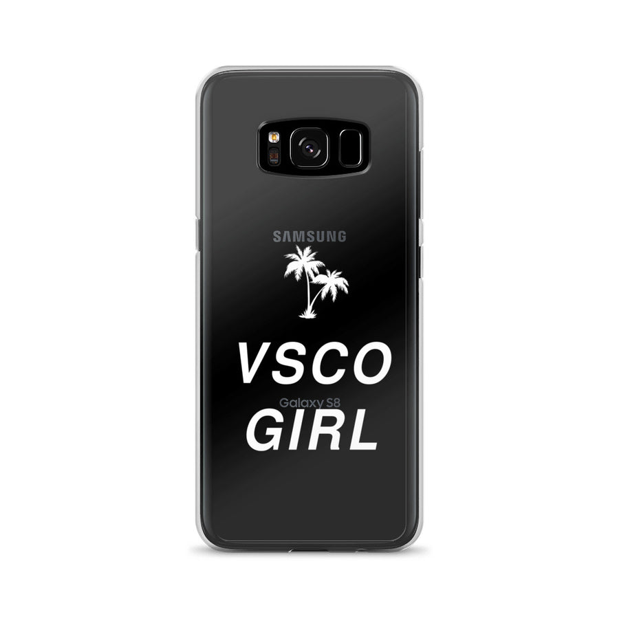 VSCO Girl clear transparent Samsung Case