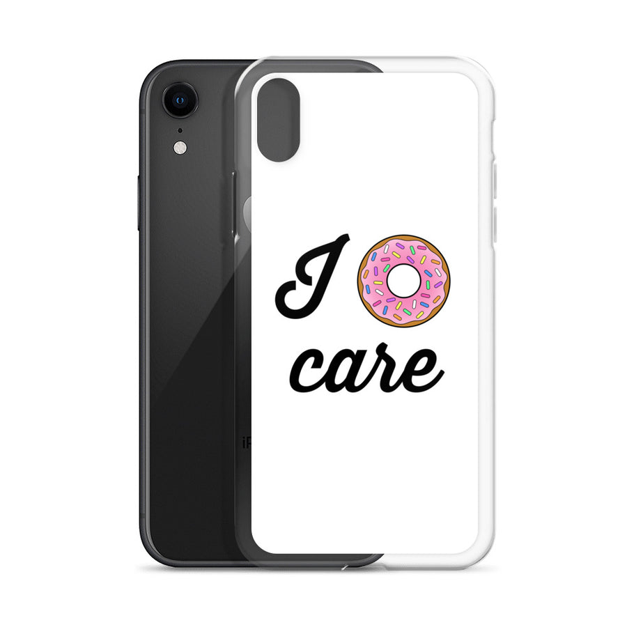 I Donut Care iPhone Case