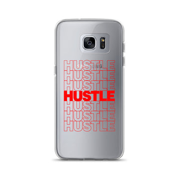 Hustle Thank You Plastic Bag clear Samsung Case