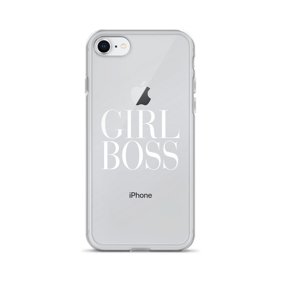 Girl Boss Transparent Couture iPhone Case
