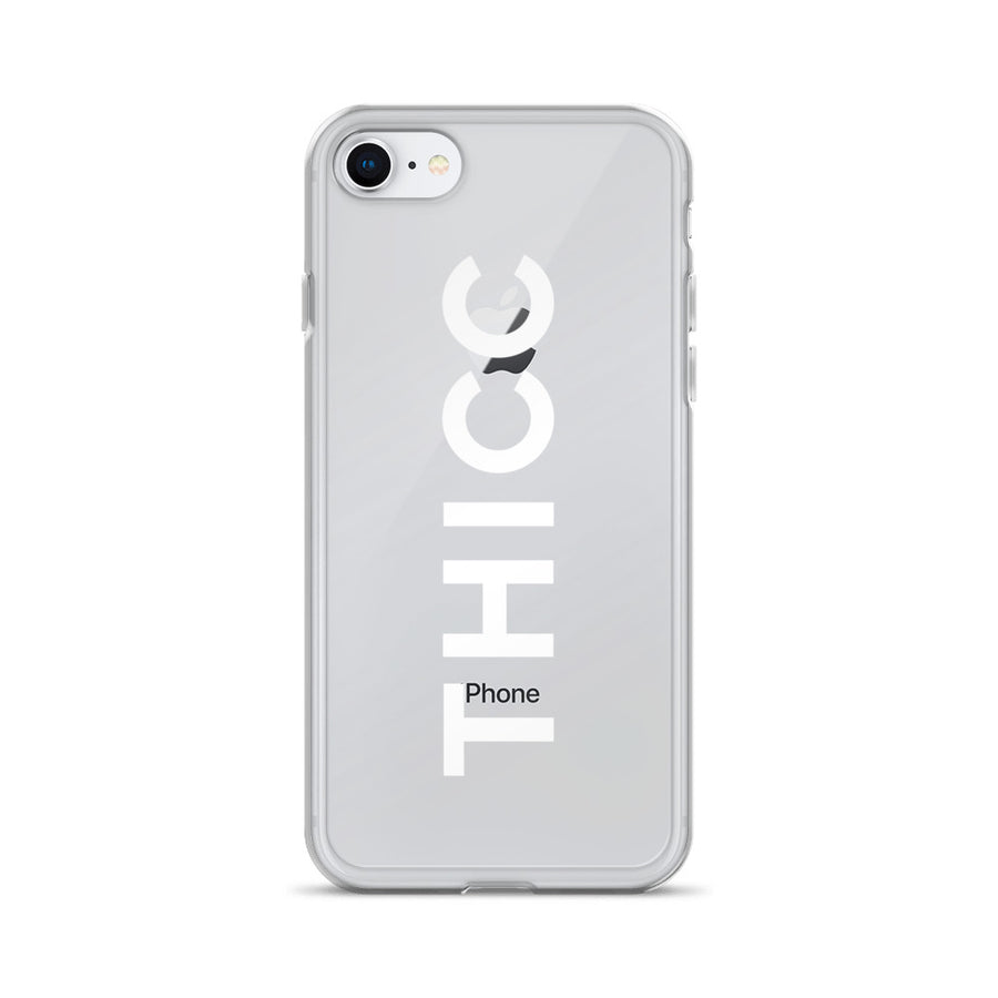 Thicc Couture Transparent iPhone Case