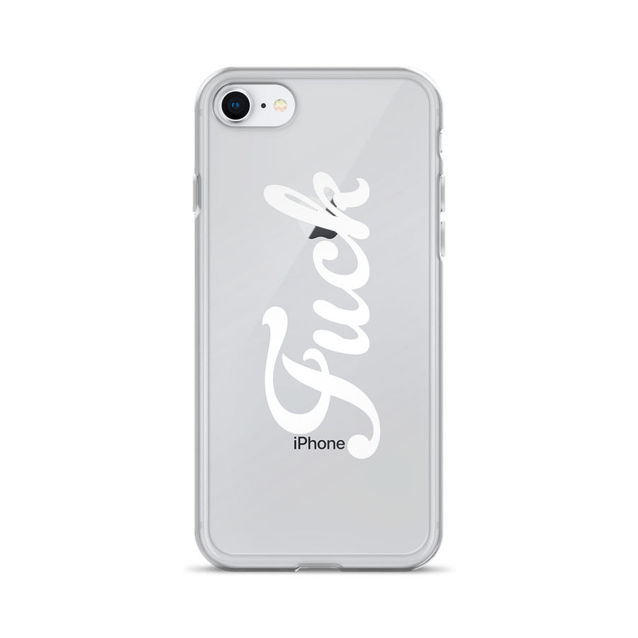 Fuck Boho Hipster Chic iPhone Case