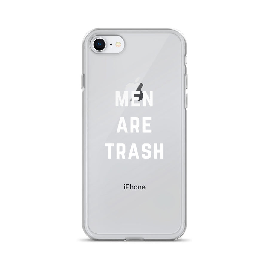 Men Are Trash iPhone Case