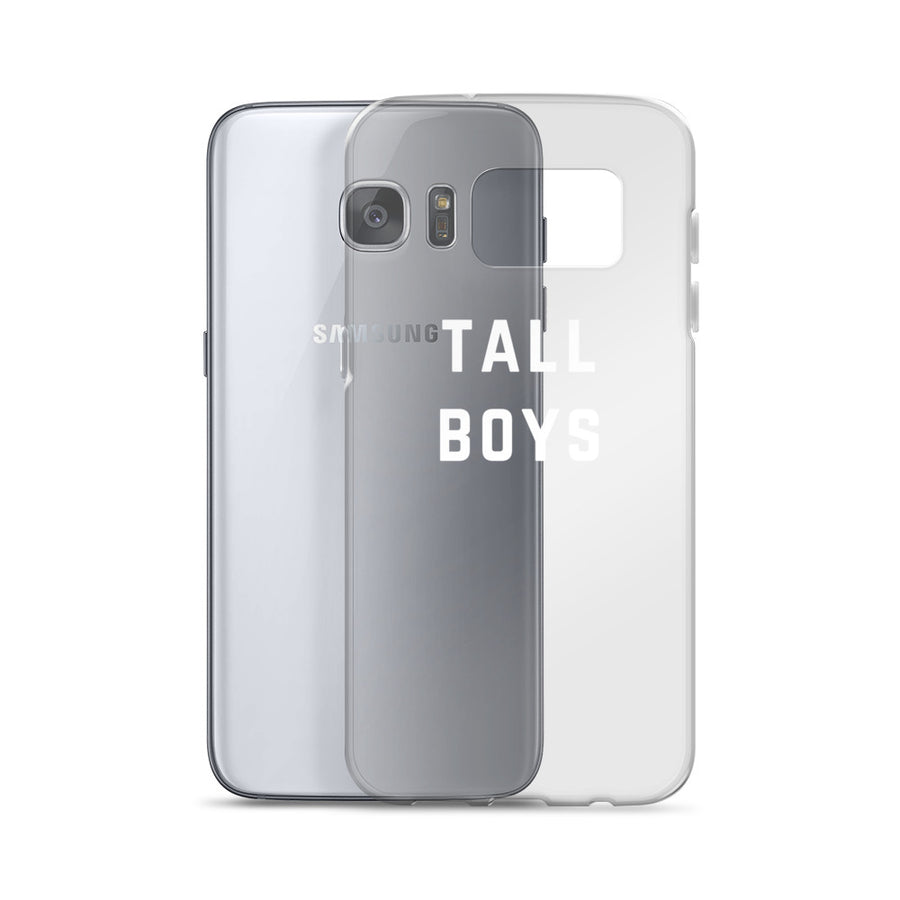 Tall Boys clear transparent Samsung Case