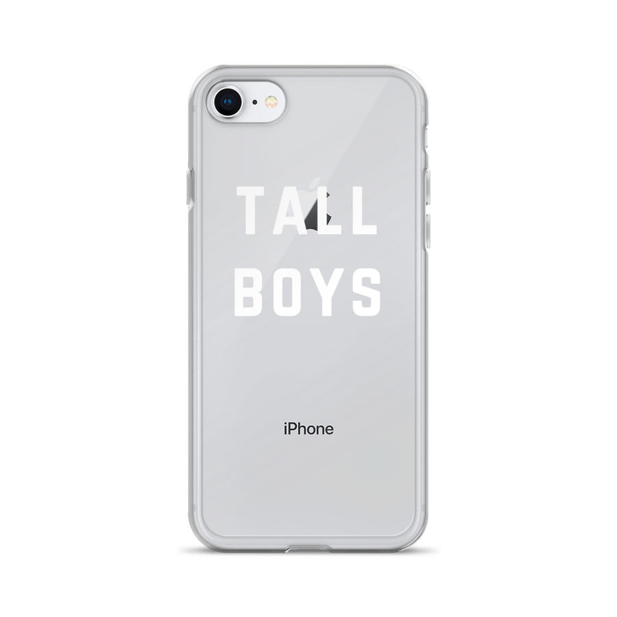 Tall Boys clear transparent iPhone Case