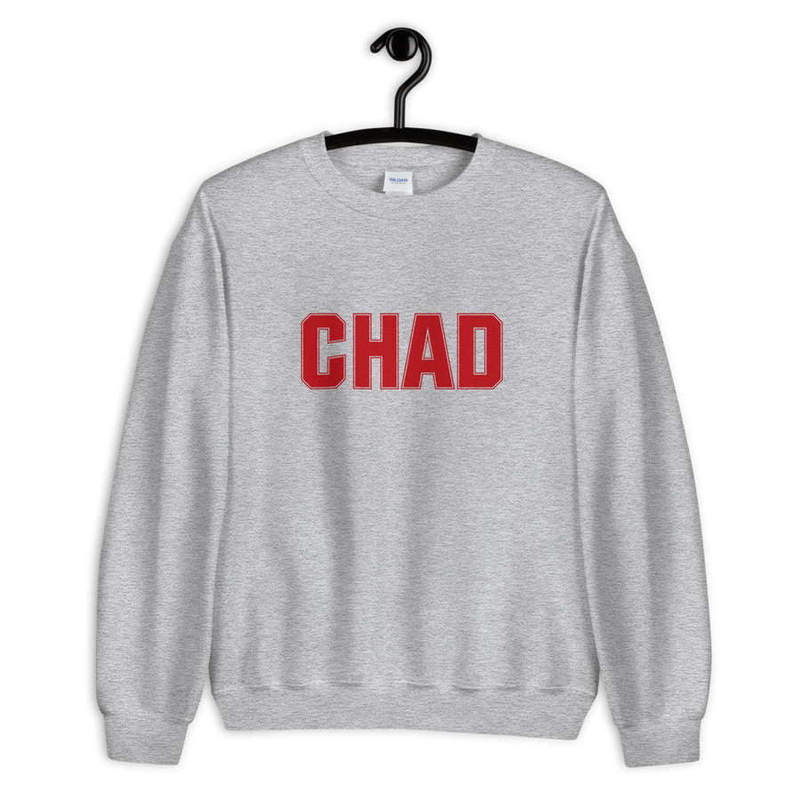 Chad Athletic Heather Grey Unisex Sweatshirt
