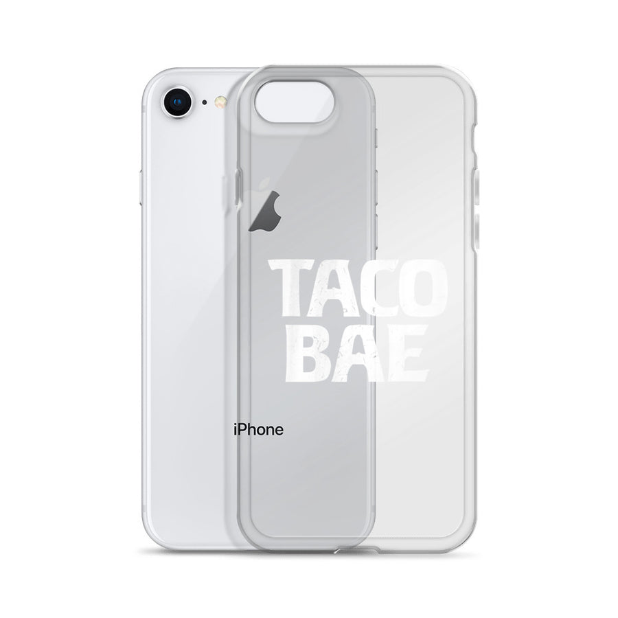 Taco Bae Clear iPhone Case