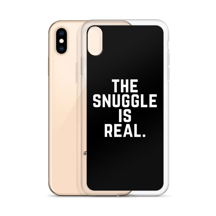 The Snuggle Is Real iPhone Case