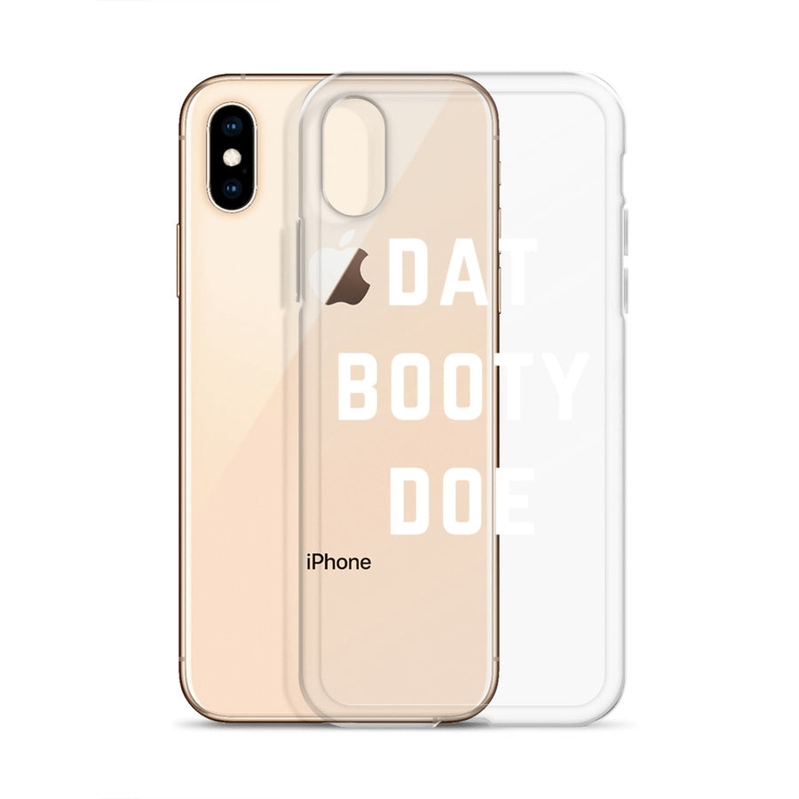 Dat Booty Doe Transparent Clear iPhone Case