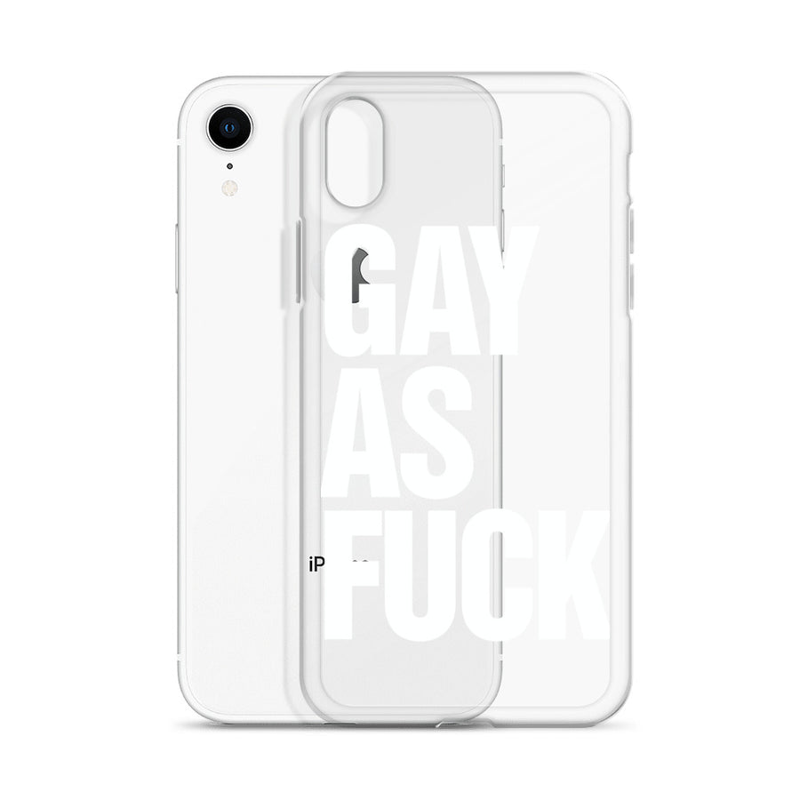 Gay As Fuck iPhone Case