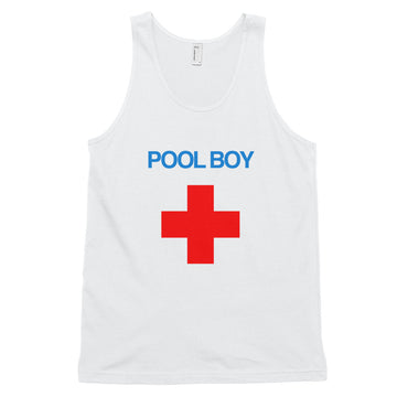 Pool Boy Unisex Athletic Tank Top