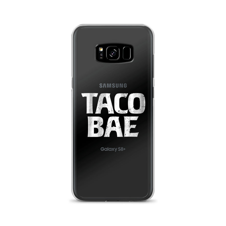 Taco Bae clear transparent Samsung Case