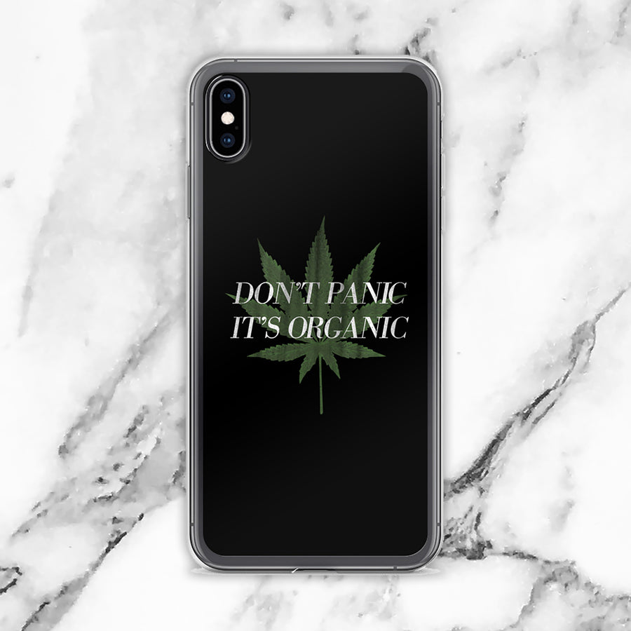 Don't Panic It's Organic iPhone Case