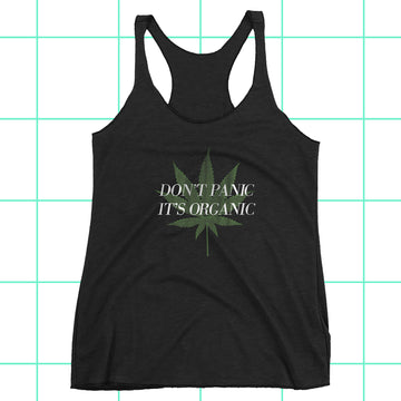Don't Panic It's Organic Women's Racerback Tank