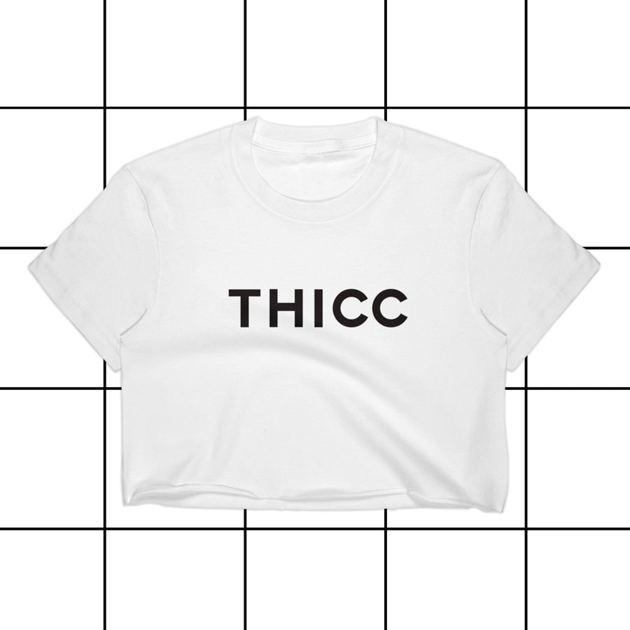 Thicc Couture Women's Crop Top