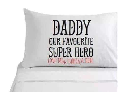 Favourite Superhero Pillowcase
