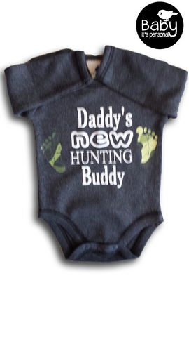 New Hunting Buddy Onesie