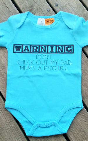 Warning don't check out my dad onesie