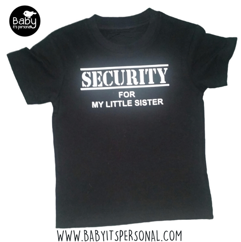 SECURITY for my little sister