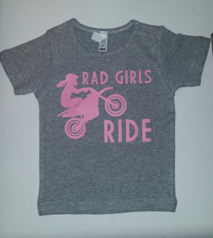 Rad Girls Ride (tee)