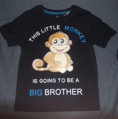 This little Monkey is going to be a big brother