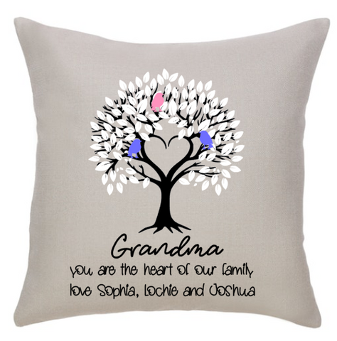 Tree of Love, Cushion COVER ONLY