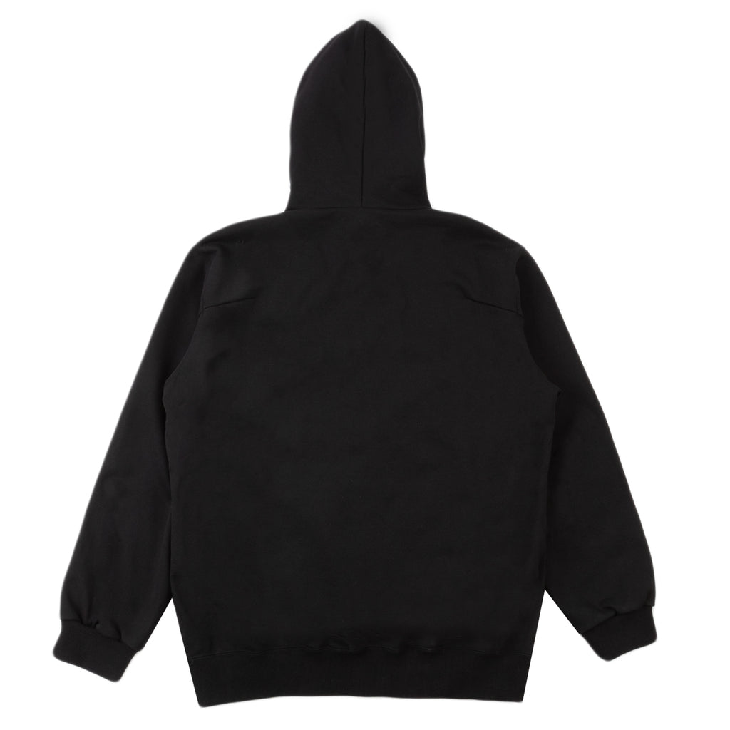 Doublet FW20 Thank You Fringe Embroidery Hoodie, Black