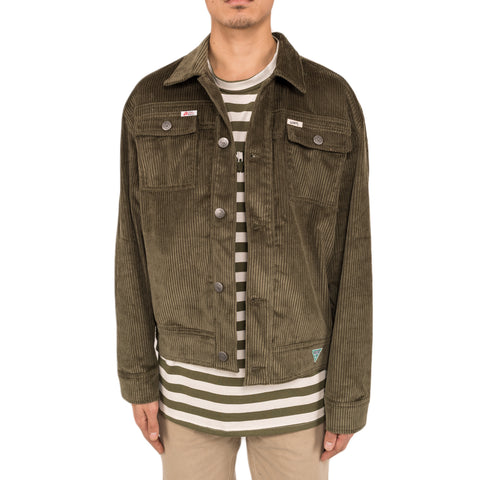 Infinite Archives x Guess Jeans L/S Worker Jacket , Olive Night