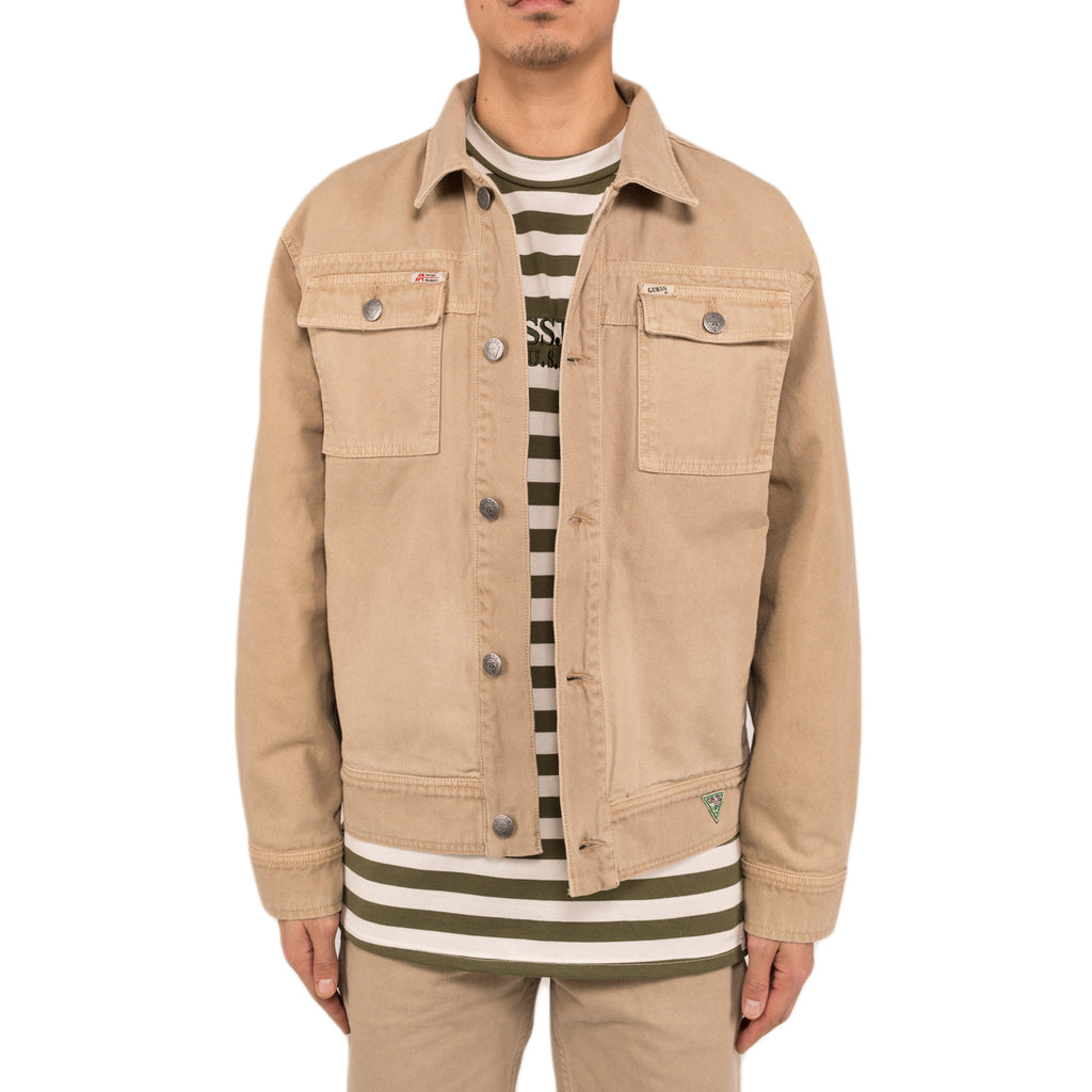 Infinite Archives x Guess Jeans L/S Worker Jacket , Warm Caramel
