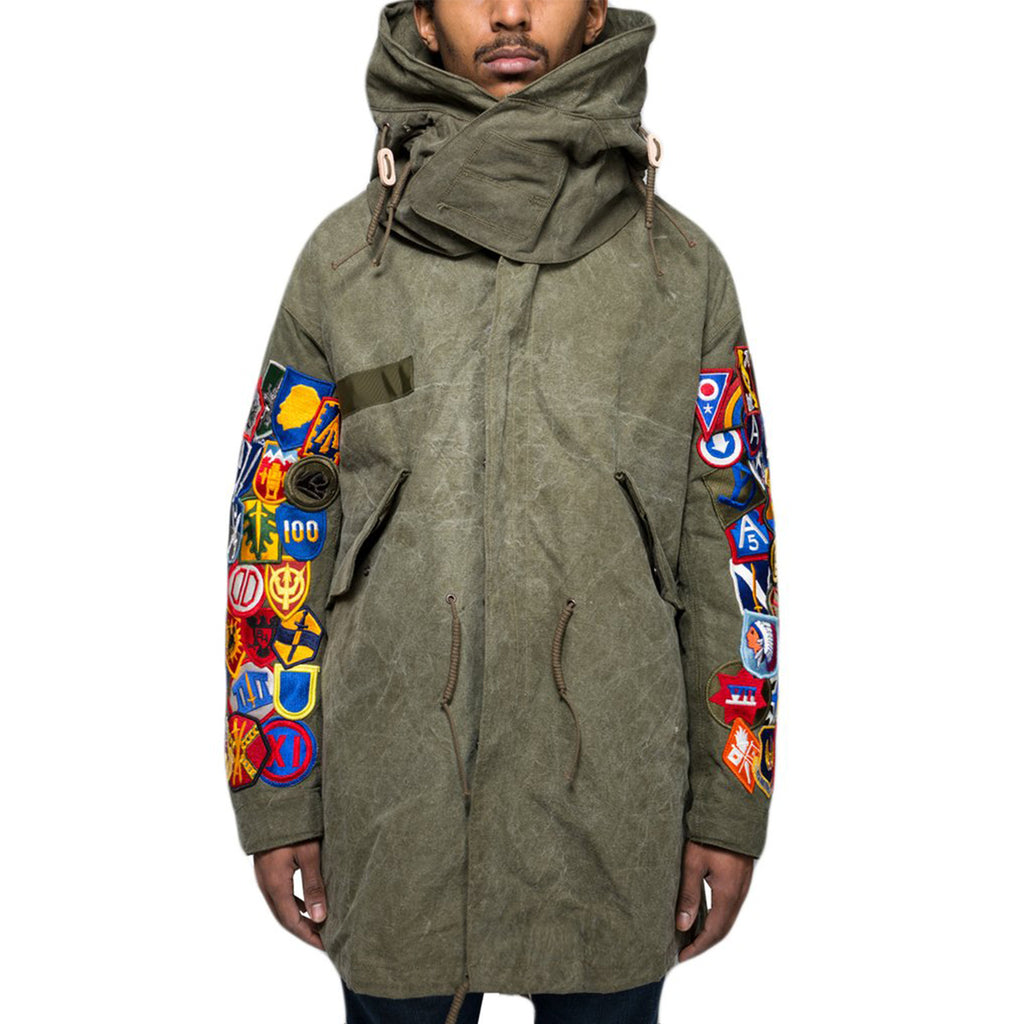 READYMADE Fishtail Parka w/ Patches