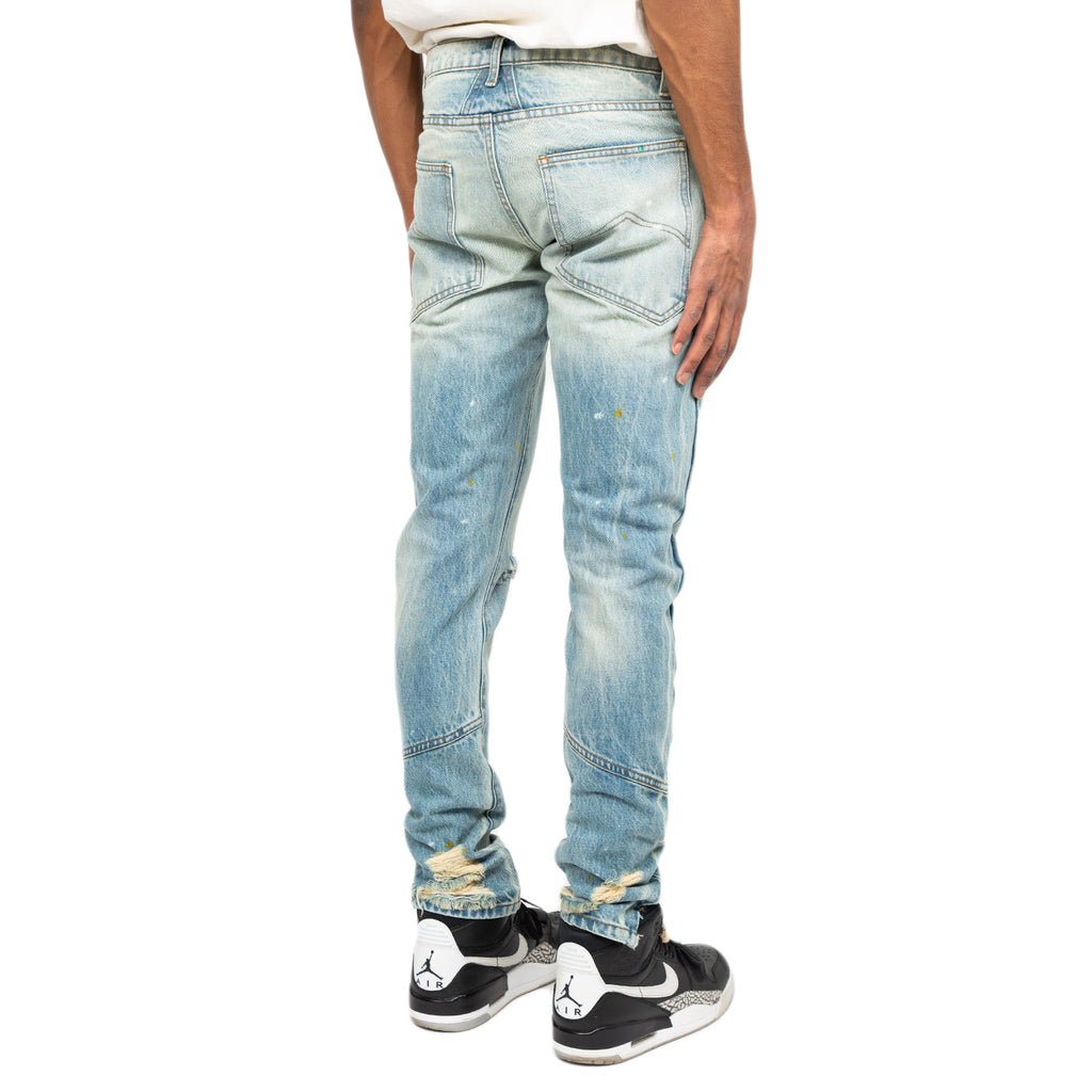 Rhude FW19 Denim 1 Pant, Blue