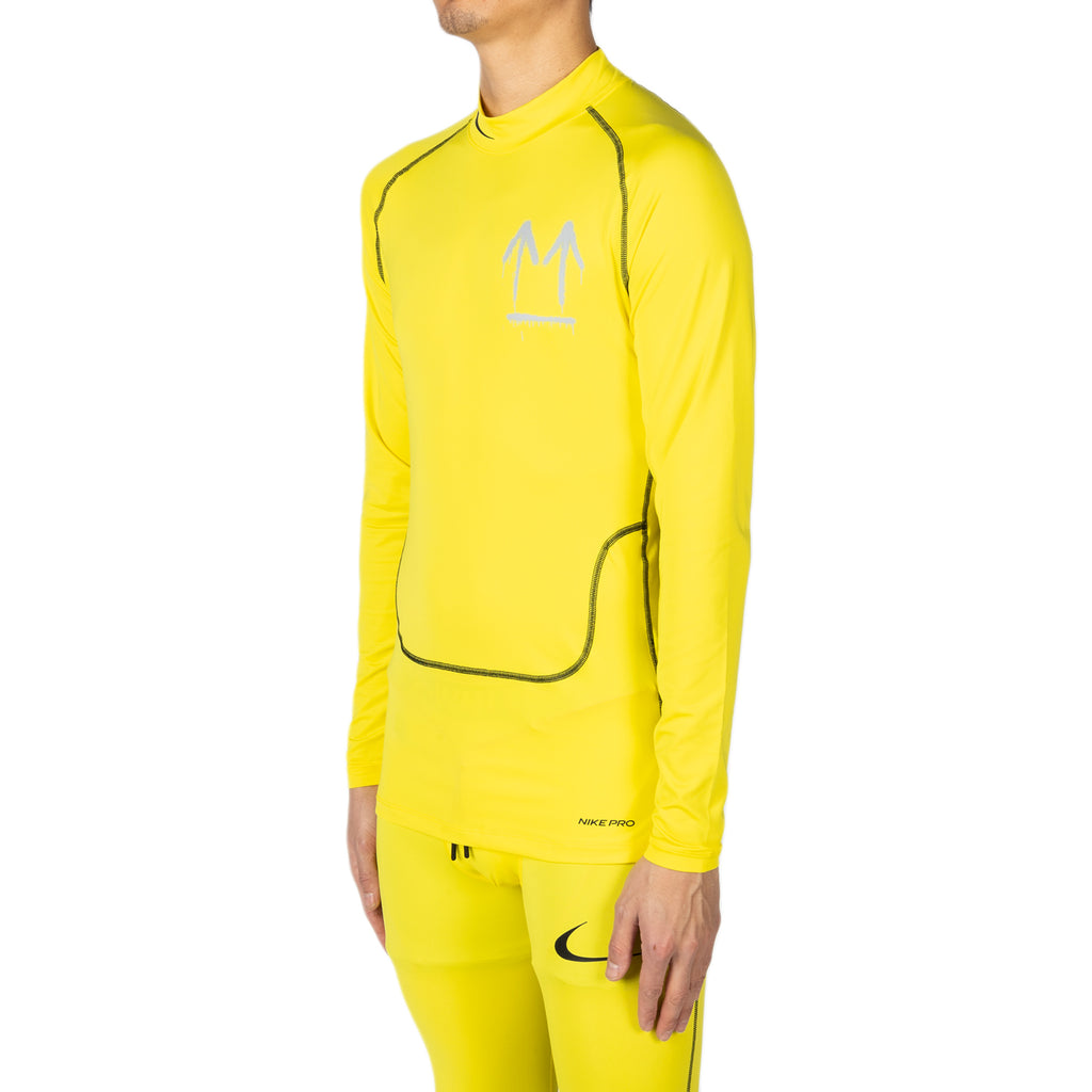 Nike x Off-White Men's NRG RU PRO L/S Top, Opti Yellow