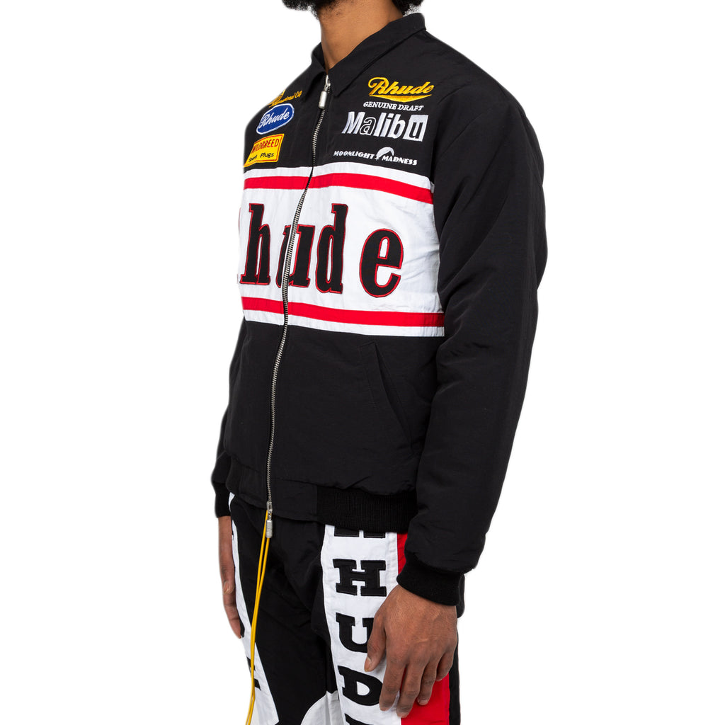 Rhude FW19 Rhacing Jacket, Black