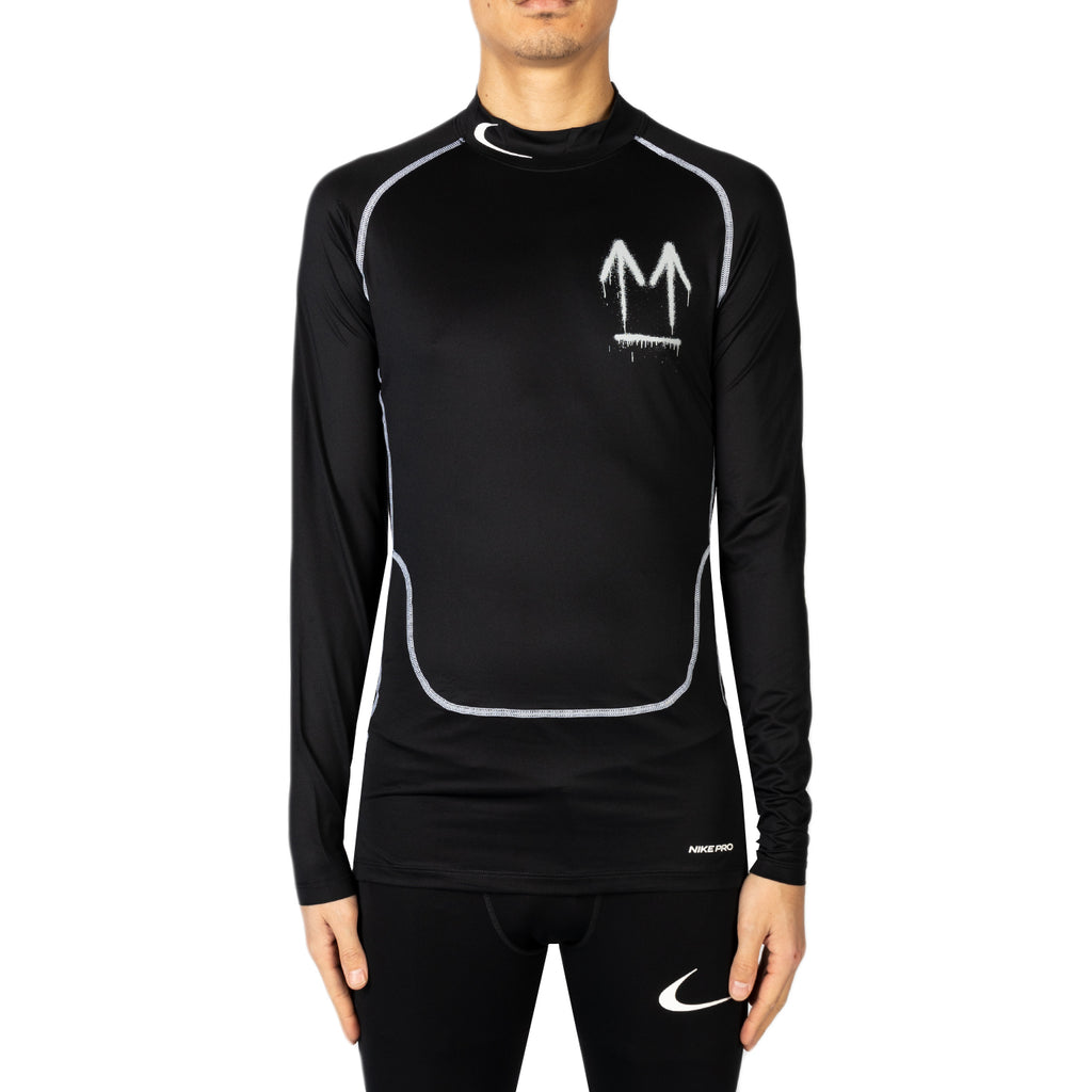 Nike x Off-White Men's NRG RU PRO L/S Top, Black