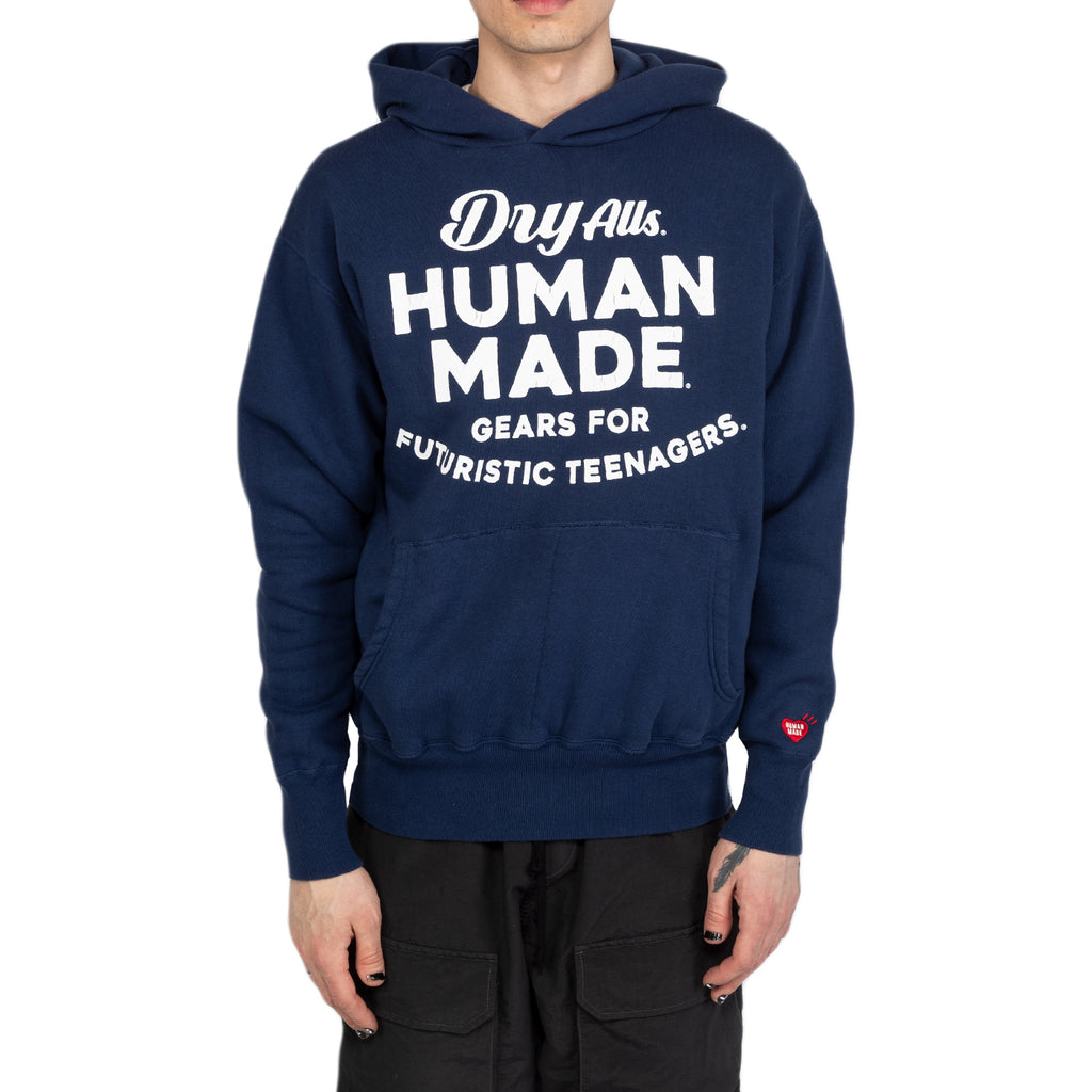 Human Made SS20 Hooded Sweatshirt, Navy