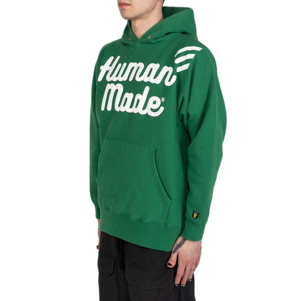Human Made SS20 Pizza Hoodie, Green
