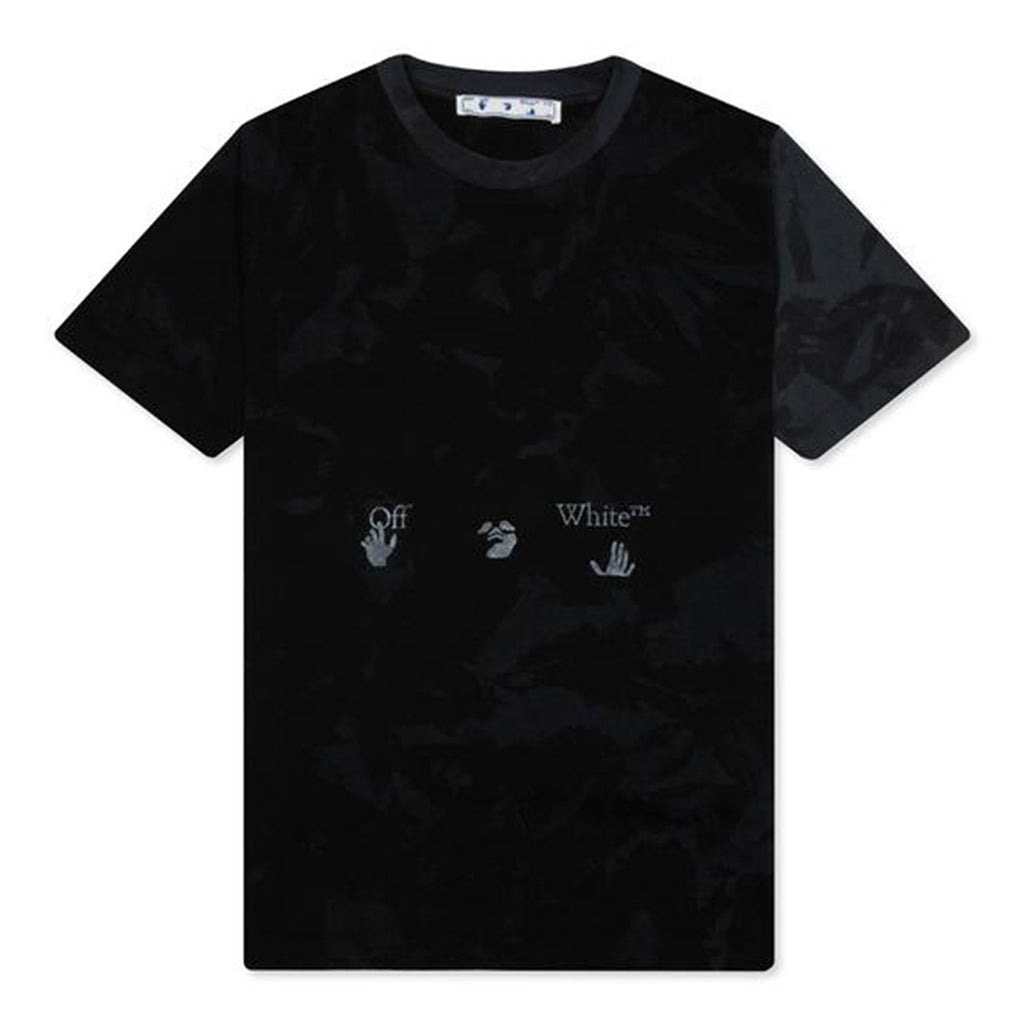 Off-White PS21 Tie Dye S/S Over Tee, Black/Grey