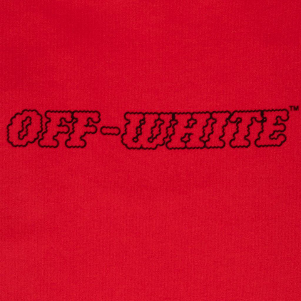 Off-White PS21 Pascal S/S Over Tee, Fiery Red/Nude