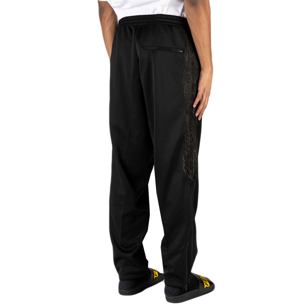 Doublet SS20 Chaos Embroidery Track Pants, Black