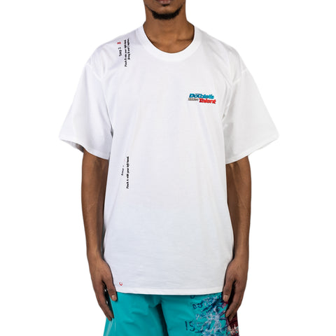 Doublet SS20 2 Seconds Holding T-Shirt, White
