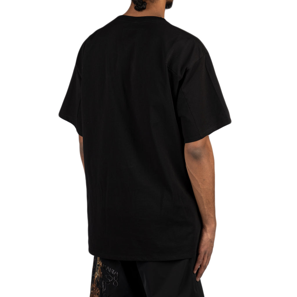 "Doublet SS20 ""Key Person"" Embroidery T-Shirt, Black"
