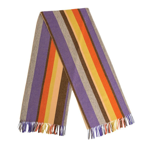 Acne Canada Strip Scarf (Multi)