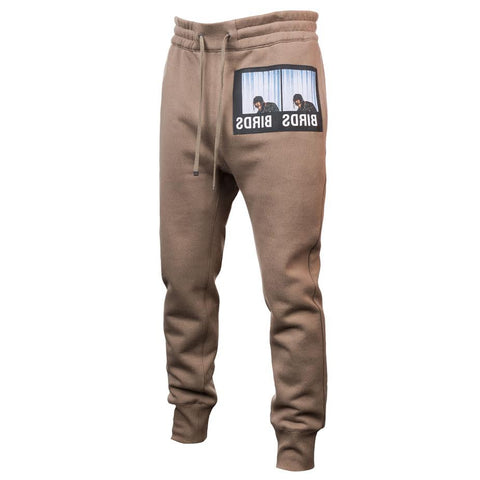 Helmut Lang x La Flame Birds Patch Jogging Pant (Wren)
