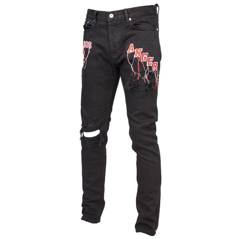 Mr Completely Anger Denim (Black)
