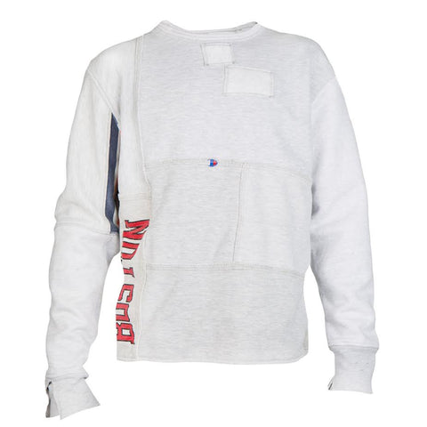 Long Journey Nash Patchwork Sweatshirt (Grey)