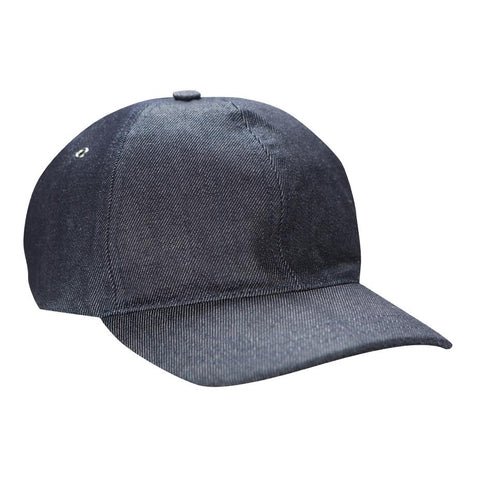 A.P.C. Louis Denim Baseball Cap (Navy)