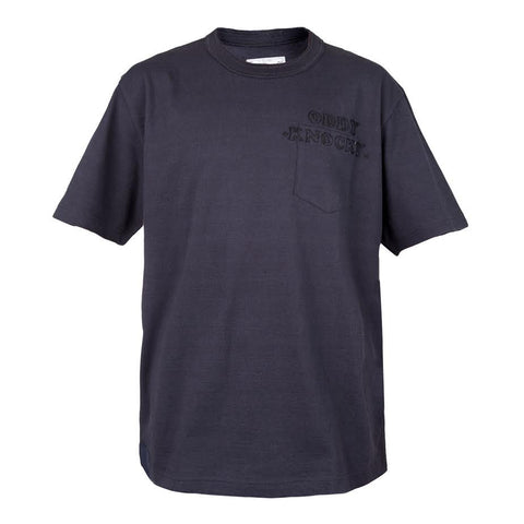 Sacai Oddy Knocky Pocket Tee (Navy)